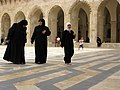 Great Mosque of Aleppo, Women of Syria in hijabs, Aleppo, Syria.jpg