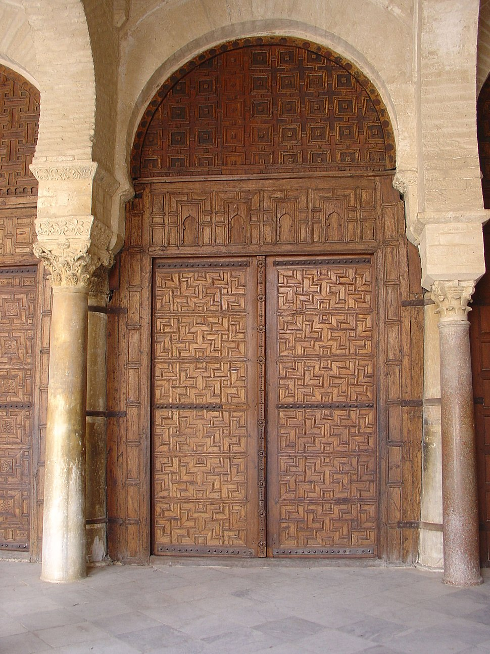 Great Mosque of Kairouan - Door