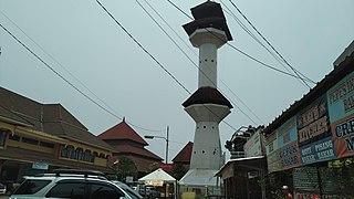 Serang City in Banten, Indonesia
