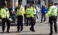 Greater Manchester Police officers in Piccadilly Gardens (Manchester, England) 2.jpg