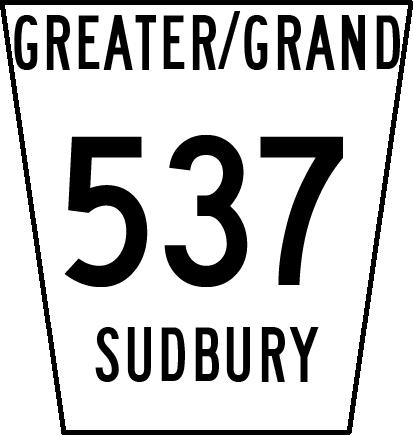 Greater Sudbury Road 537