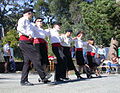 Greek line dancers Belmont California.jpg