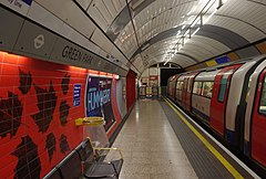 Green Park tube station MMB 03 1996 Stock.jpg