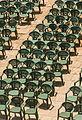 Green armchairs Alcazaba, Almeria, Spain.jpg