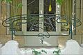 Grille en fer forgé de la terrasse (La Hublotière) (6192781762).jpg