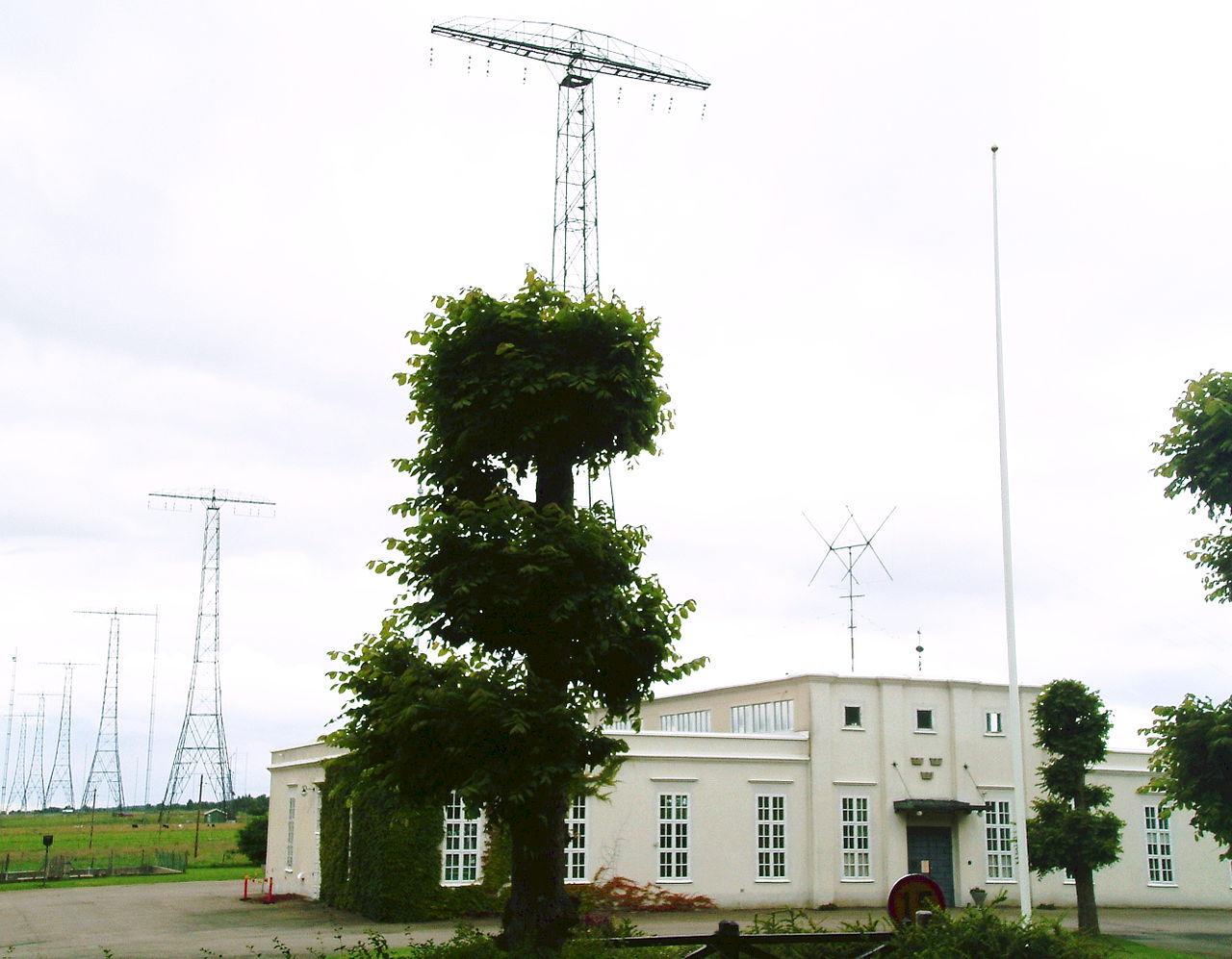 Grimeton Radio Station met roepletters SAQ