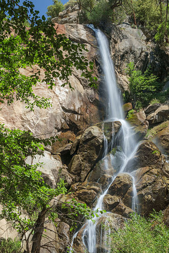 Sequoia National Forest - Image: Grizzly Falls, Sequoia National Forest