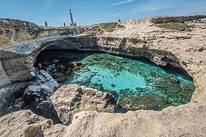 Roca (archaeological site) - Grotta della Poesia