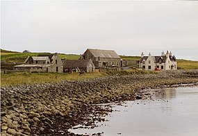 Grutness from Fair Isle ferry jetty - geograph.org.uk - 335336.jpg