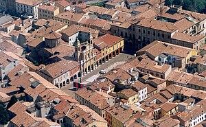 Guastalla - Image: Guastalla Piazza Mazzini Aerea