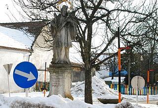 Figurenbildstock hl. Johannes Nepomuk
