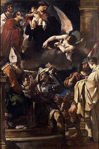 William of Gellone - William of Gellone, Guillaume d'Orange, William of Aquitaine  by Guercino