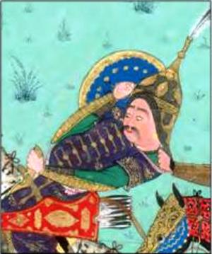 Gorgin (Shahnameh) - Gorgin in the Shahnameh of Shah Tahmasp.