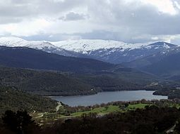 View of Gennargentu, the highest massif of Sardinia Gusana.jpg