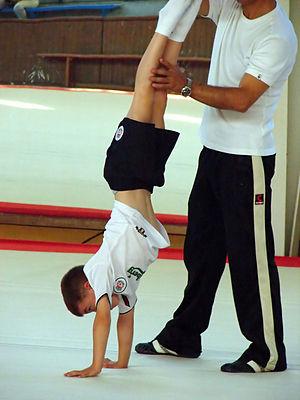 Handstand, Gymnastics