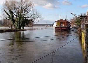 Nidda (river) - Image: Höchst Wörthspitze Feb 2007