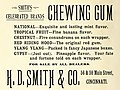 H. D. Smith and Company Chewing GumaaPompeii,an fete - Pain's last days of 1891 (IA pompeiianfetepai00unse) (page 10 crop).jpg
