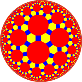 Truncated trioctagonal tiling