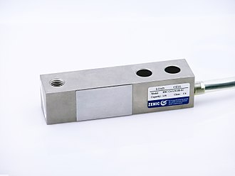 Load cell - shearbeam loadcell for platform weighing, hospital beds etc.