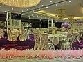 HK Jordan 港景峰 Victoria Tower mall night 煌府酒家 Palace Restaurant hall interior 9 Apr 2013.JPG