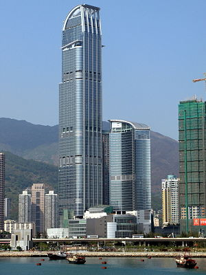 Tsuen Wan District - Nina Tower in Tsuen Wan West