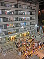 HK Sheung Wan PMQ mall facade Hollywood Road night May-2014 002.JPG