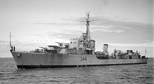 HMAS Warramunga (I44) - HMAS Warramunga (I44) in 1946