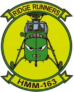 VMM-163 - Image: HMM 163 vietnam era patch