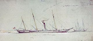 Royal Navy Arrow-class gunvessel (1854–1863)
