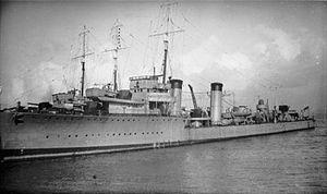 HMS Bruce (D81) IWM SP 001351