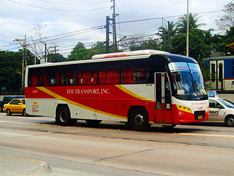 Daewoo Bus - Daewoo BF106 operated by HM Transport Inc.