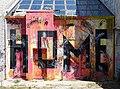 HOME - Graffito on Derelict Pyramid Structure - Tirana - Albania (27944325817).jpg