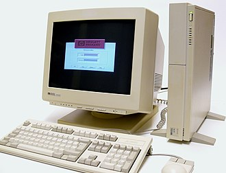 Visual User Environment - HP 9000 model 425 running the login manager for VUE
