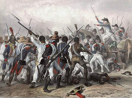 Battle of Vertières in 1803 Haitian Revolution.jpg