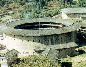 Tulou - A tulou in Yongding county