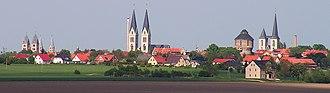 Halberstadt - Image: Halberstadt Stadt der Kirchen Foto 2005 Wolfgang Pehlemann Wiesbaden Germany PICT0042