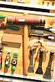 Hammer und verschiedene Meißel für den Bootsbau.JPG