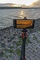 Handyaufnahme des Sonnenuntergangs als Zeitraffer 20200909 DSC3230.jpg