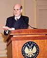 "Harold Holzer at the ""With Malice Toward None"" exhibition, Library of Congress (March 2009).jpg"