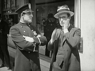 Charles Stevenson (actor) - Harold Lloyd and Charles Stevenson in Number, Please