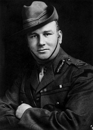 Brigadier general - Image: Harold Pompey Elliott portrait