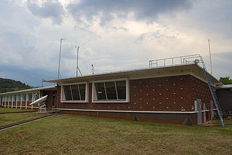 Hartebeesthoek Radio Astronomy Observatory - The HartRAO control building