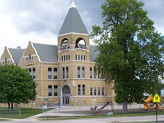 Harvard, Illinois - Historic Central School, Harvard, Illinois