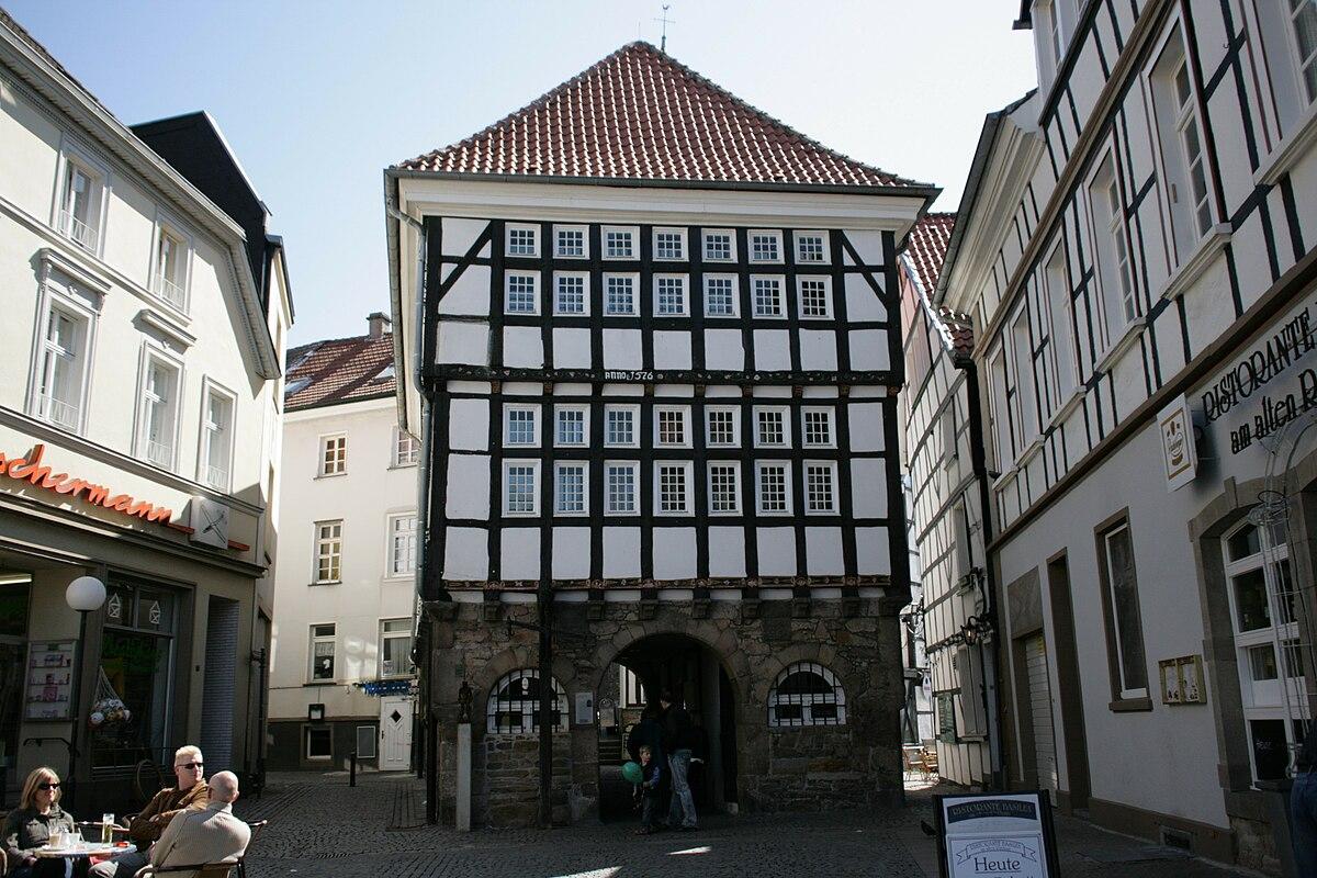 Fenster Hattingen altes rathaus hattingen