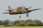 Hawker Hurricane I 'R4118 UP-W' (G-HUPW) (44278975595).jpg