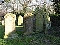 Hayton family gravestones, Martham Churchyard - geograph.org.uk - 693592.jpg