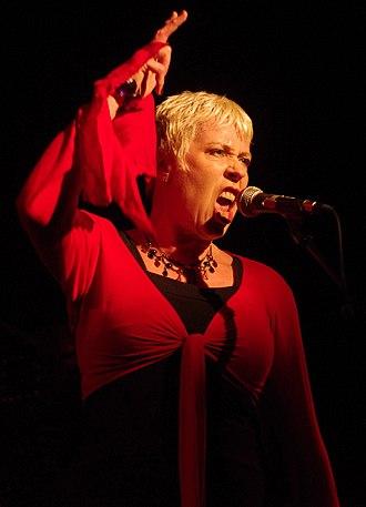 Hazel O'Connor - Hazel O'Connor in 2010 at the Ropetackle Centre, Shoreham