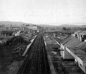 Heathfield (Devon) railway station - Heathfield station in 1969