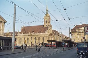 Church of the Holy Ghost, Bern - Image: Heiliggeistkirche Bern Nov 2004