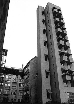John Hejduk - Image: Hejduk Kreuzberg Tower 2